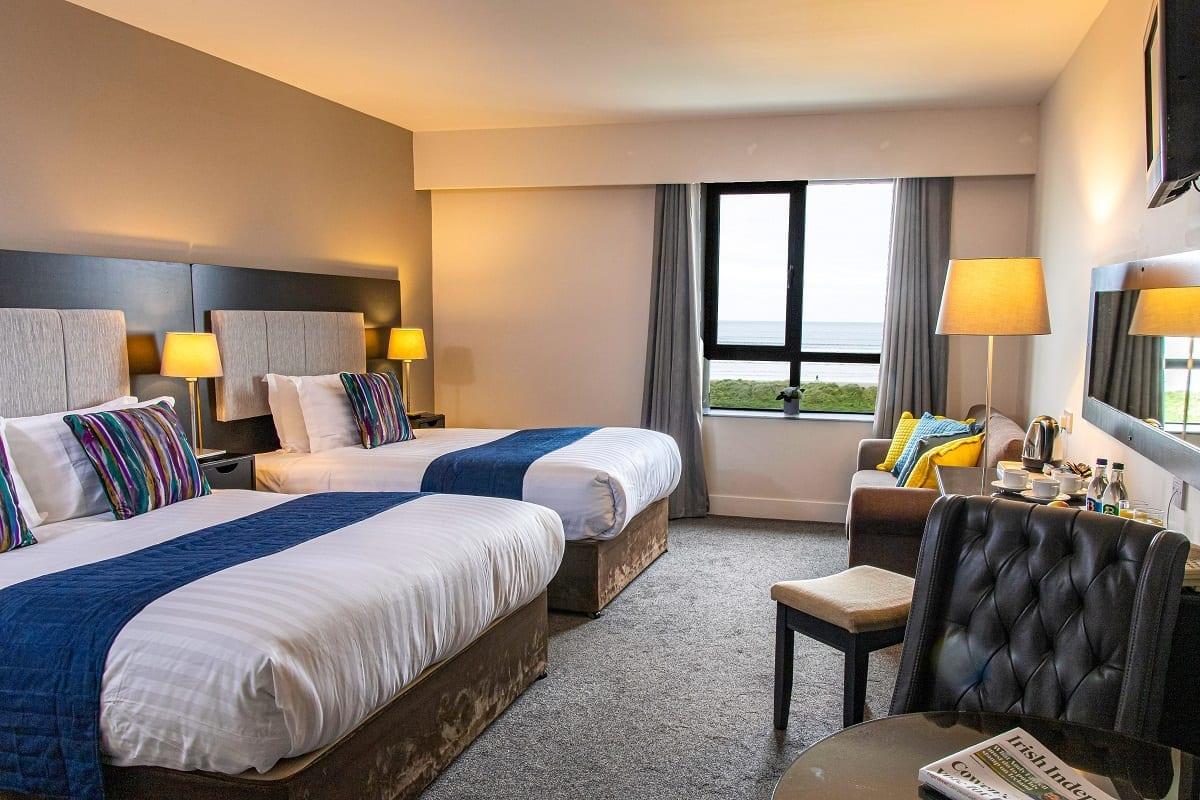 A ocean-sands-hotel-family-room-sea-beach-view-wild-atlantic-way-sligo