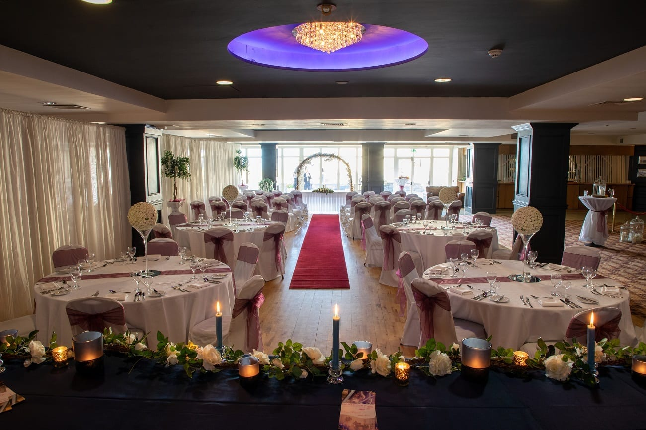 Civil Ceremony from top table copy