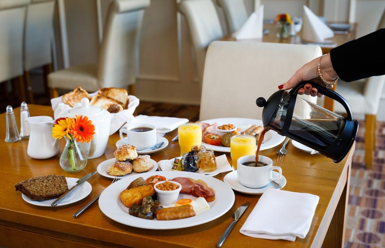 ocean-sands-hotel-full-irish-breakfast